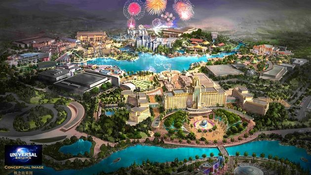 Universal Studios To Open Its Largest Theme Park In China Universal Parks Universal Studios Theme Park Universal Islands Of Adventure