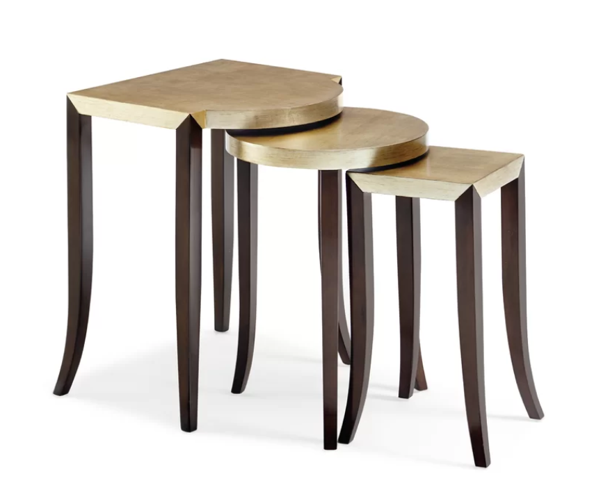 Pin By Perigold On Modern Glamour Nesting Tables Coffee Table