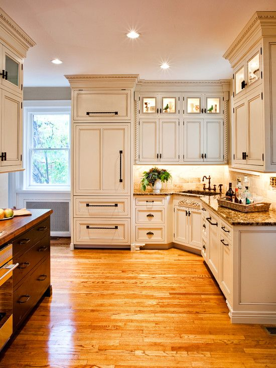 Best Interior Fine Looking Traditional Kitchen Design With 640 x 480