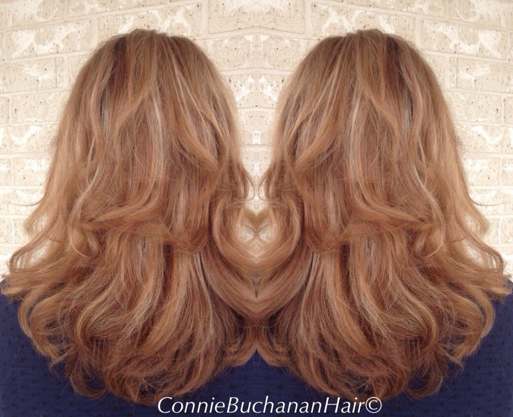 Strawberry Blonde by Connie  Elite Salon of Weatherford www