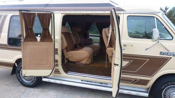 1985 Dodge Ram 250 Custom Hightop Extended Van Prospector Package Custom Van Low Miles 2900 Recreational Vehicles Van Vans