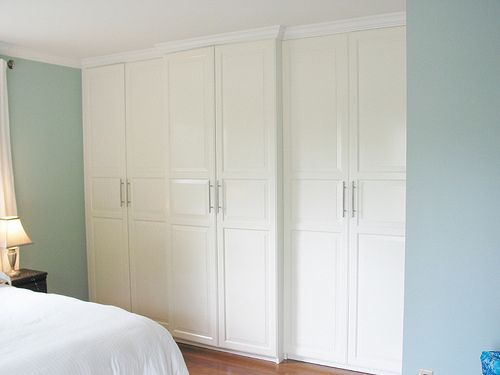 Ikea Pax Closet With Crown Molding