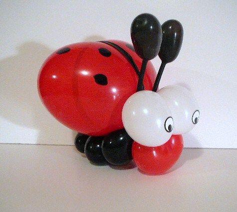 lady bug balloon twisting Ladybug Balloon Twist Inspiration