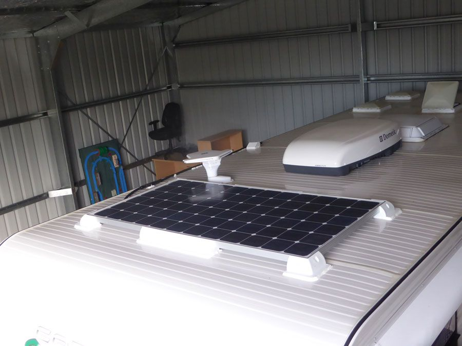 Read My Diy Installation Of A Solar Panel Solar Regulator And Deep Cycle Batteries To Our Coromal Elements Family Car Solar Panels Solar Campervan Accessories