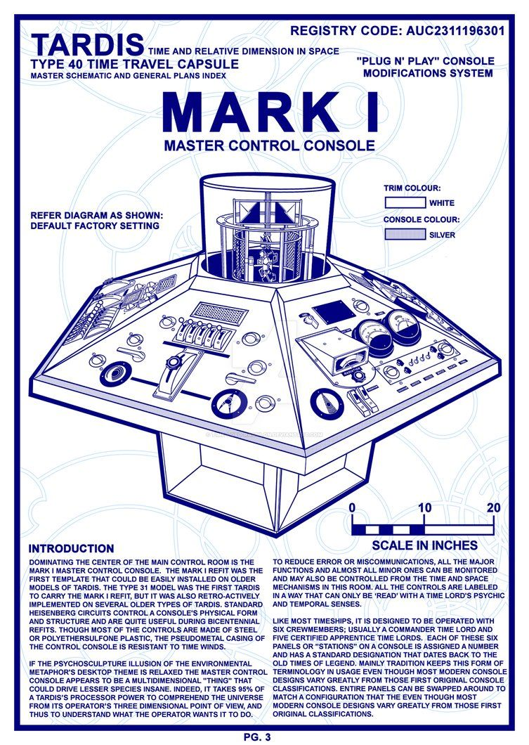 TARDIS Master Schematics Page 3 FINAL by Time-Lord-Rilon ...
