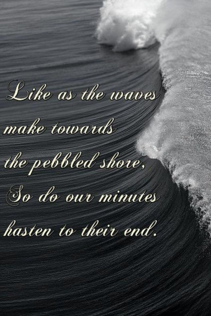 Like as the waves make towards the pebbled shore so do our minutes like as the waves make towards the pebbled shore so do our minutes hasten to their end sonnet60 fandeluxe Choice Image