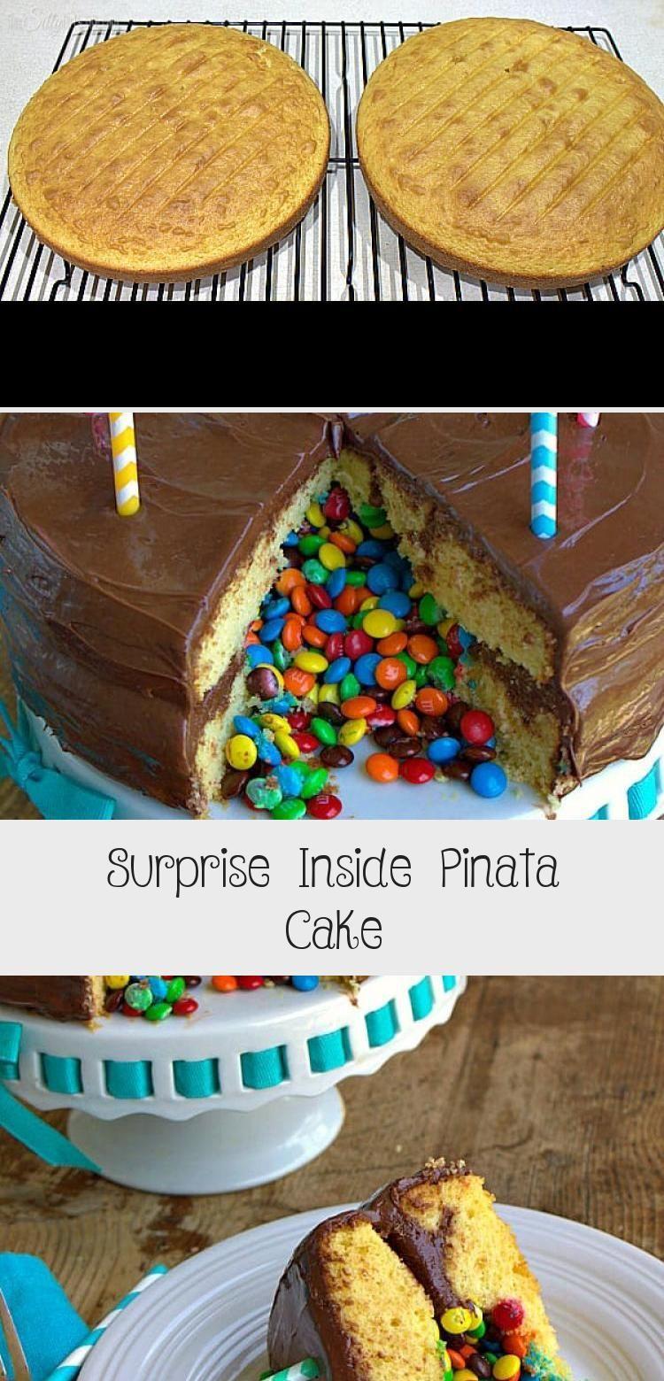 Photo of Surprise Inside Pinata Cake – Cake –  Surprise Inside Pinata Cake, step by step …