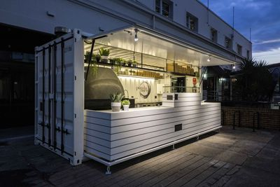 Plastic Shipping Crates Shipping Container Pop Up Pizza Restaurant Launched Container Restaurant Shipping Container Restaurant Kitchen Containers