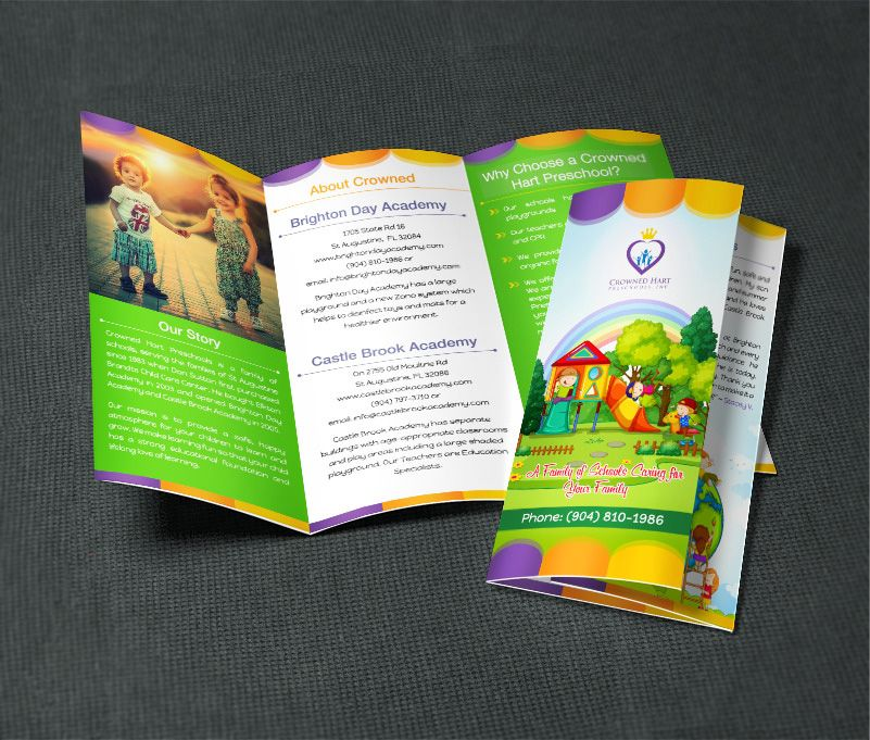 probookdesigns  I will design flyer or bifold or trifold brochure