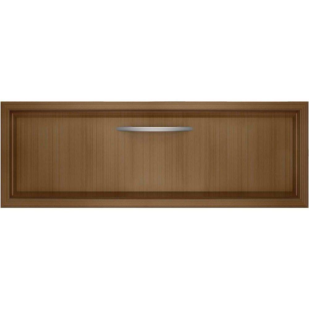 Kitchenaid 27 in warming drawer in overlay panelready