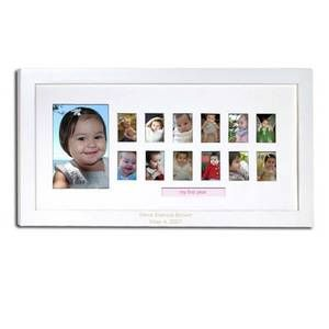 Babys First Year Personalized Frame Picture Ideas Baby Baby Boy