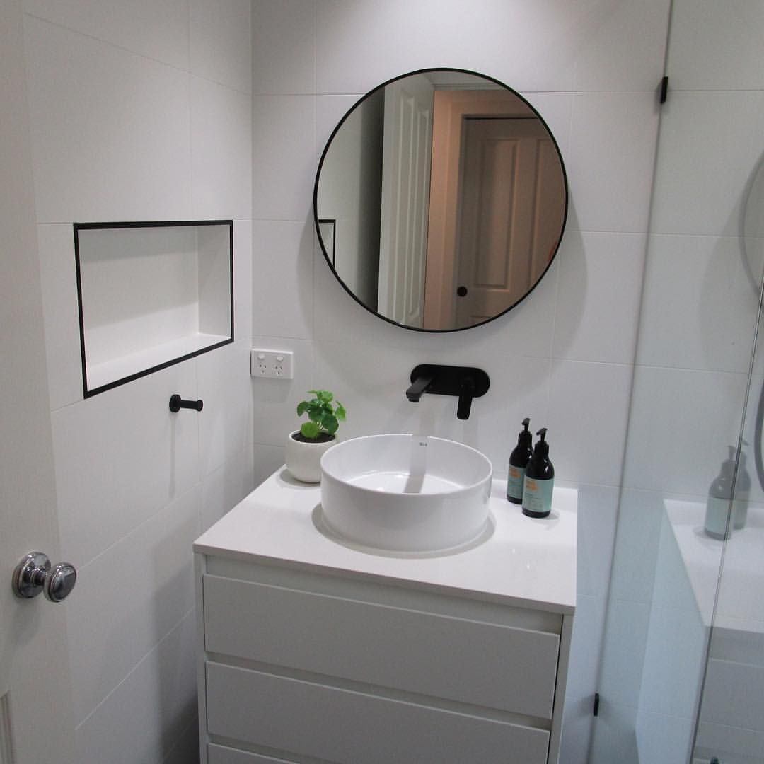 Another Crisp New Bathroom Renovation By Atwell Bathrooms Complete With Beautif Bathroom Renovation Bathroom Renovations Melbourne Frameless Shower Enclosures Bathroom renovation melbourne fl