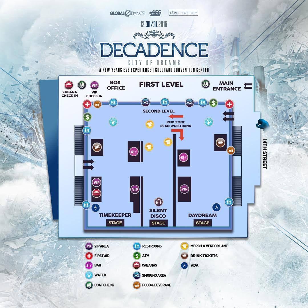Decadence Colorado Convention Center