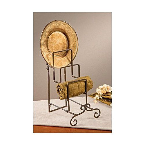 York 4 place step towel plate stand ** For more information, visit