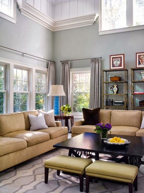 A Collection Of Ideas For Decorating Two Story Walls Home Family Room Decorating Living Room Wall