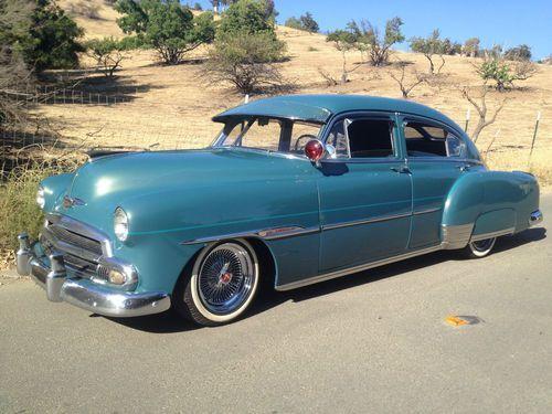 Find new 1951 chevrolet fastback fleetline 4 door custom for 1949 chevy fleetline 2 door for sale