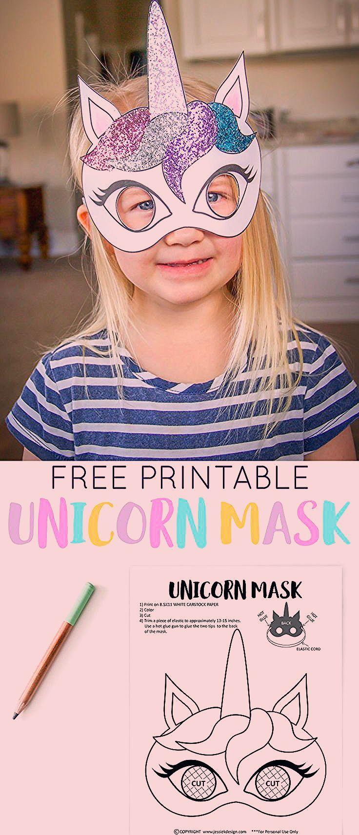 Photo of Unicorn Birthday Party Free Printables » Jessie K Design