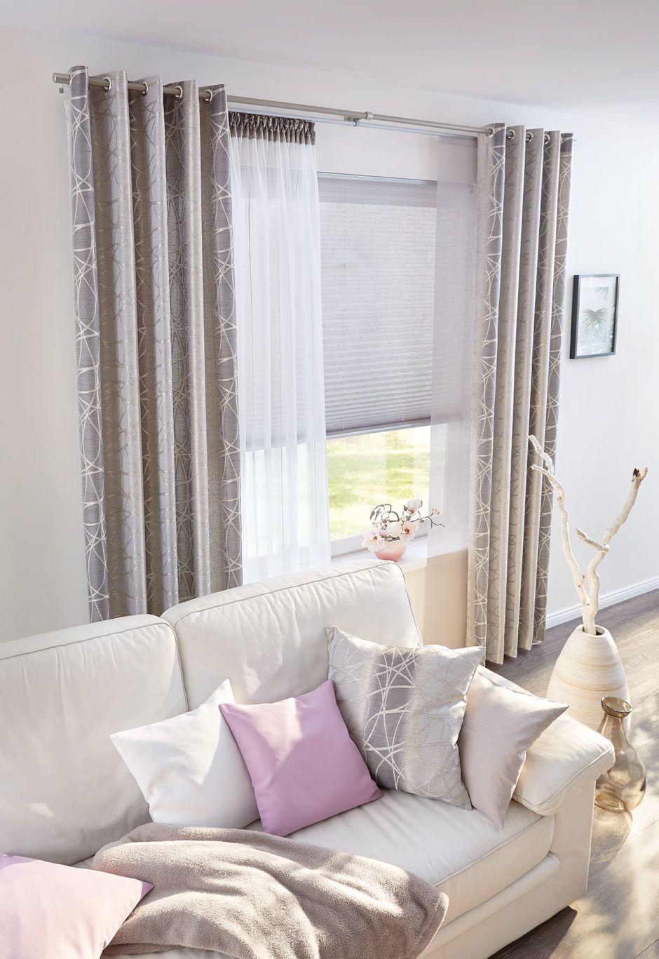 Gardinen Vorhange Dekostoffe Plissee Kissen Vorhange