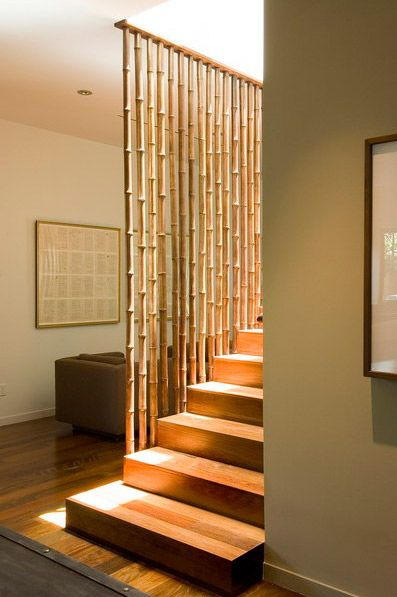 Divisórias como forma de substituir parede! Casa Pinterest - muros divisorios de madera