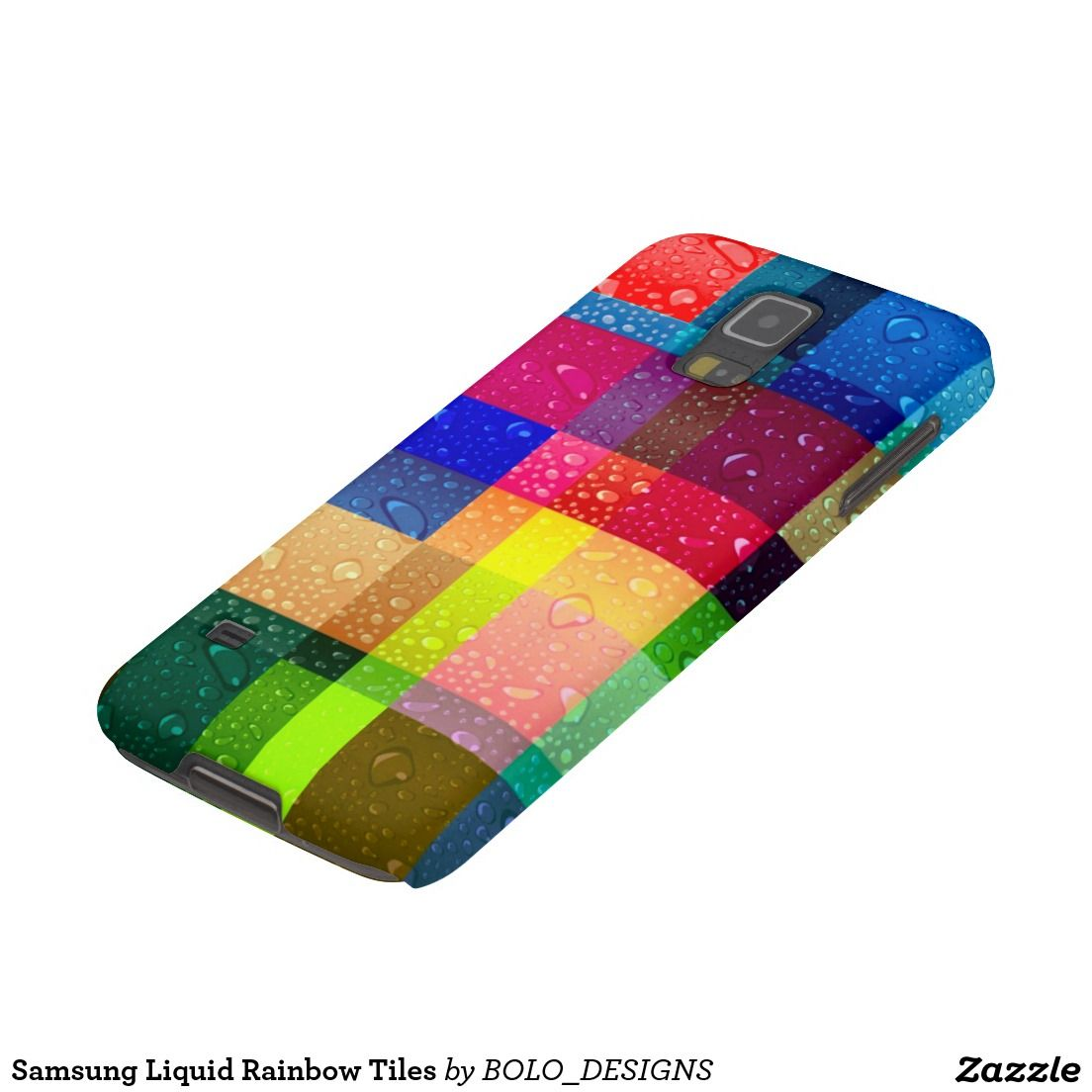 Samsung Liquid Rainbow Tiles Galaxy S5 Case