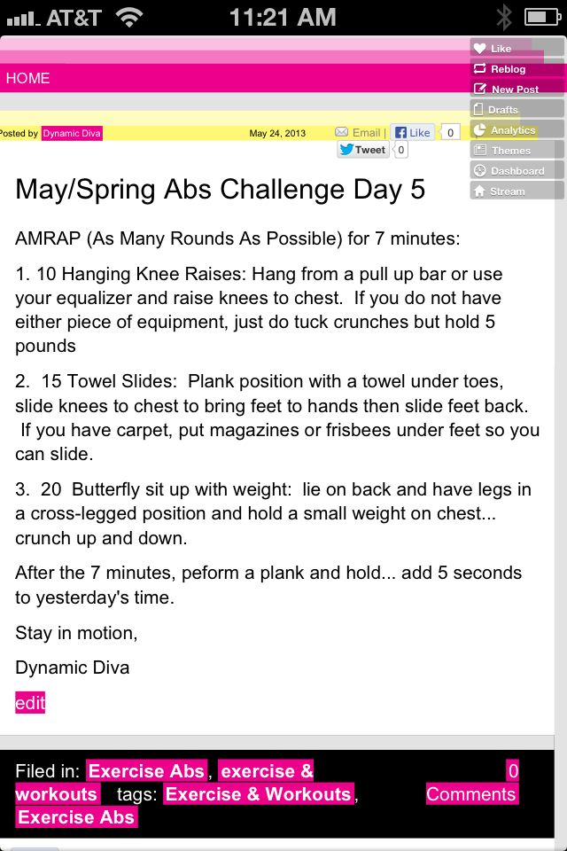 Abs day 5