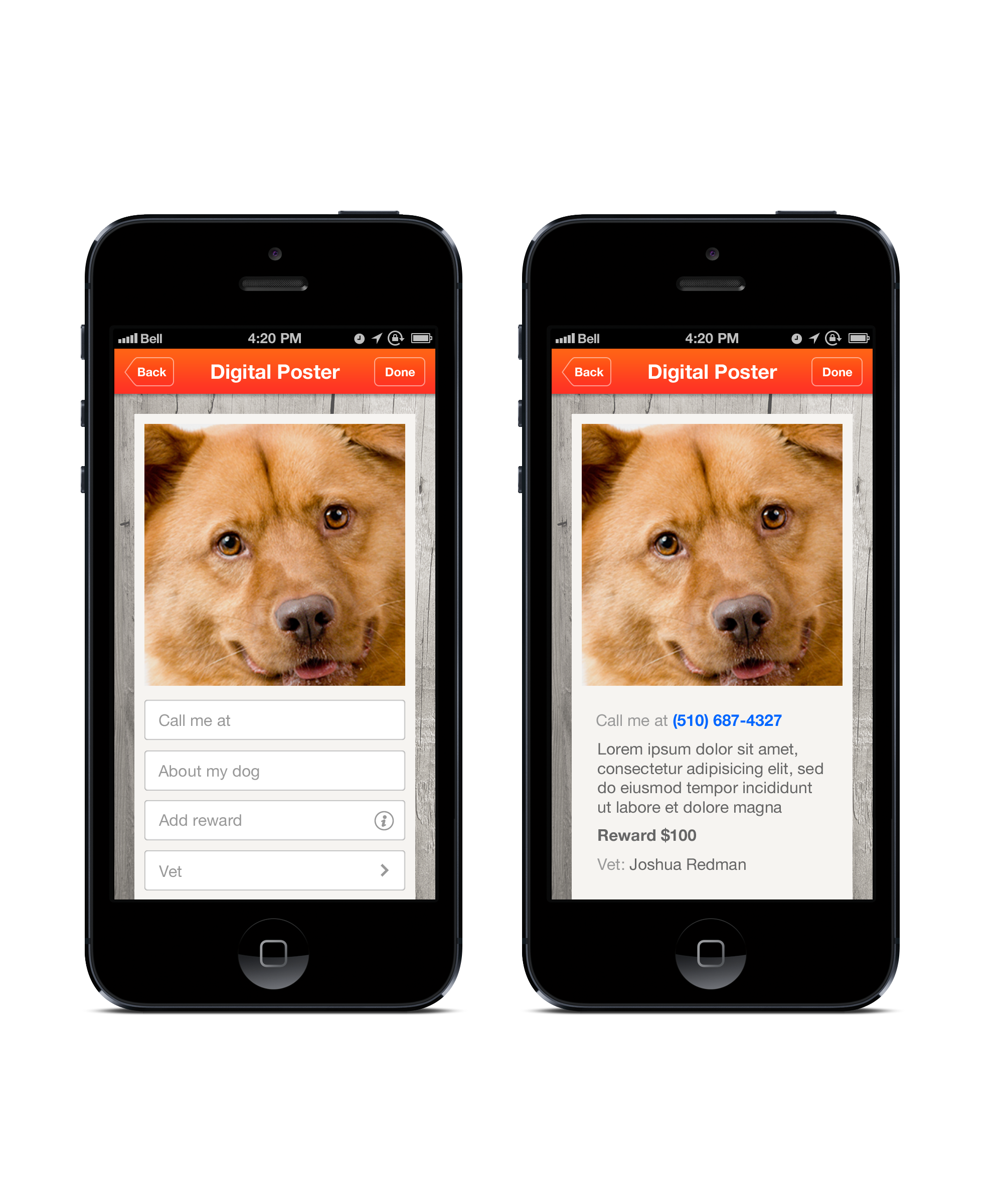 New Smartphone App Helps Find Lost Dogs Losing a dog