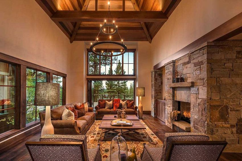 43 Beautiful Large Living Room Ideas Formal Casual Designs Rustic Living Room Family Room Design Beautiful Living Rooms Beautiful living rooms with fireplace