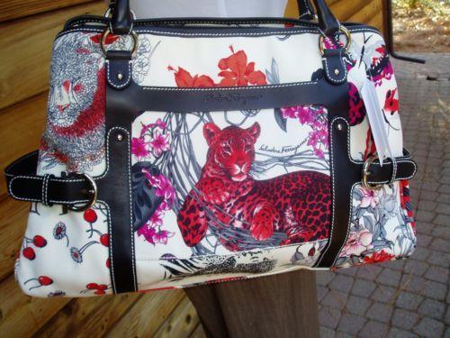 c1f0e5f6833 Salvatore-Ferragamo-Tote-Fiera-Large-Leopard-Shoulder-Handbag-1190-White-NEW