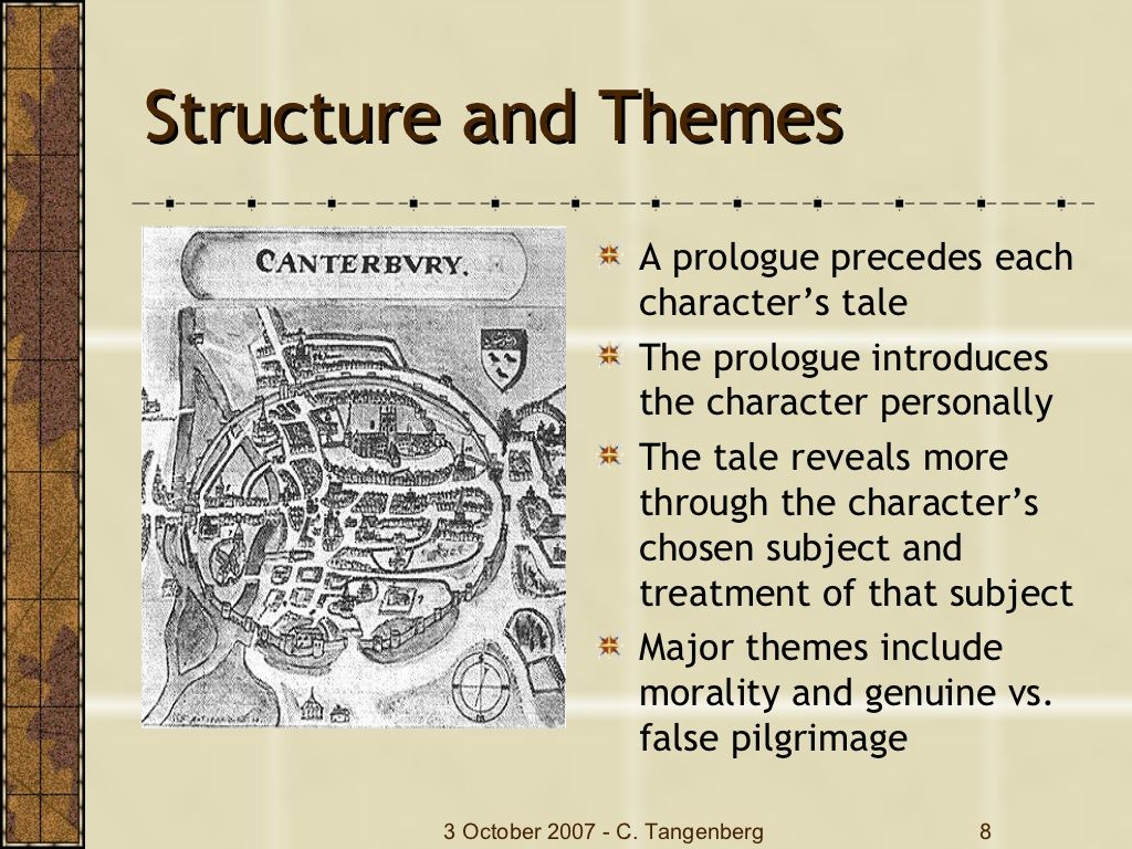 Chaucer Canterbury Tales With Images