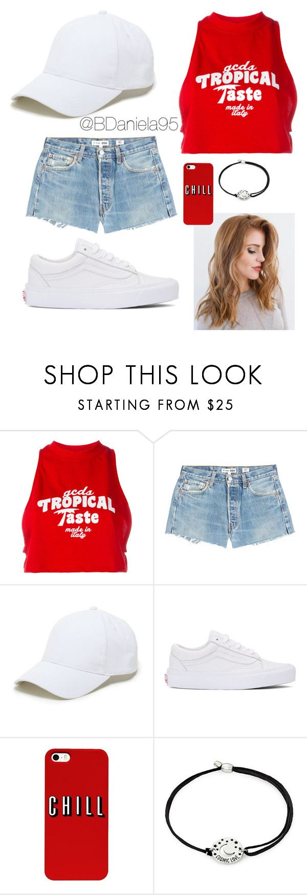 """""""Untitled #249"""" by daniela95140 on Polyvore featuring GCDS, RE/DONE, Sole Society, Vans and Alex and Ani"""