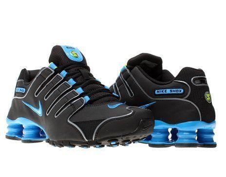 68af3353759 Nike Shox NZ Womens Running Shoes 314561-021 Black 11 M US Nike