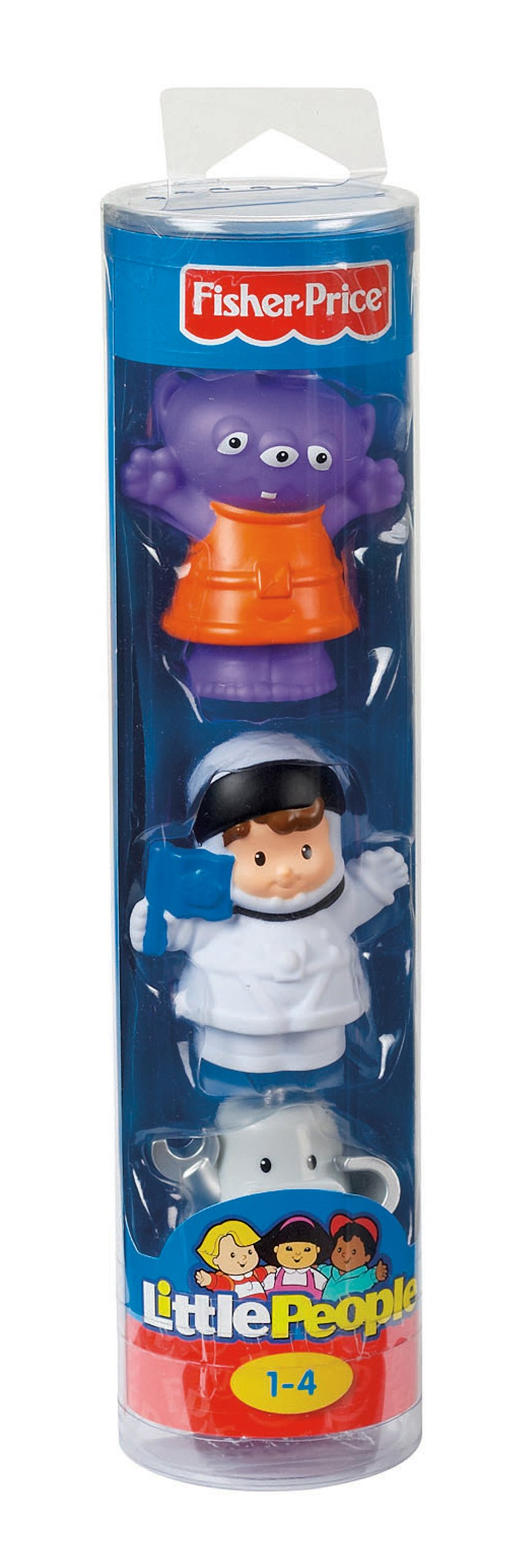 Fisher-Price/ /Little People Figures Tube Space