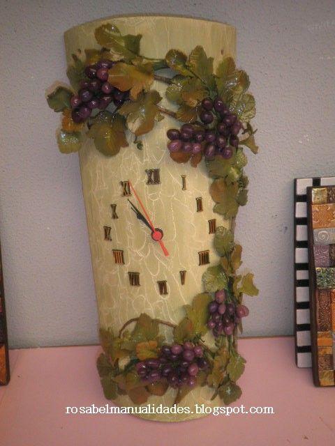Modelado en porcelana fria imitacion madera buscar con - Manualidades con madera ...