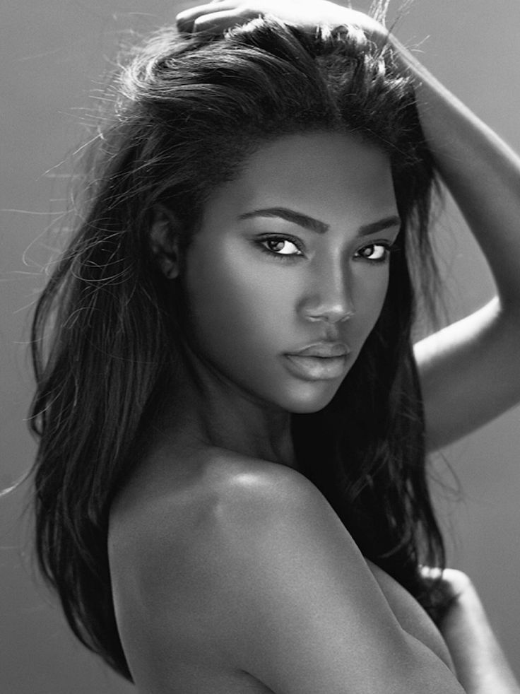 models Beautiful black women