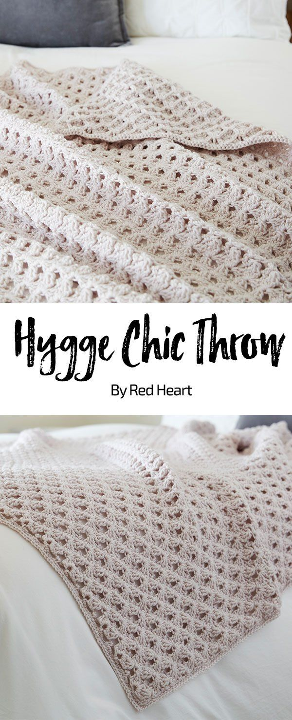 Hygge Chic Throw free crochet pattern in Chic Sheep by Marly Bird ...