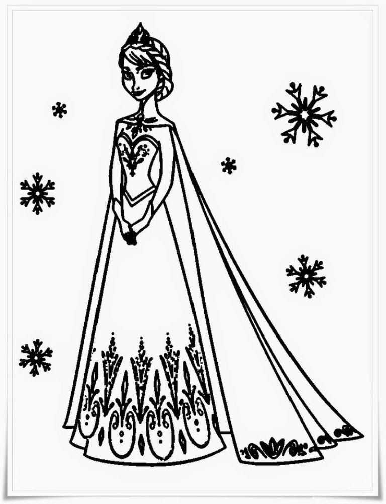 Frozen Colouring Pages | Elsa coloring pages, Frozen ...