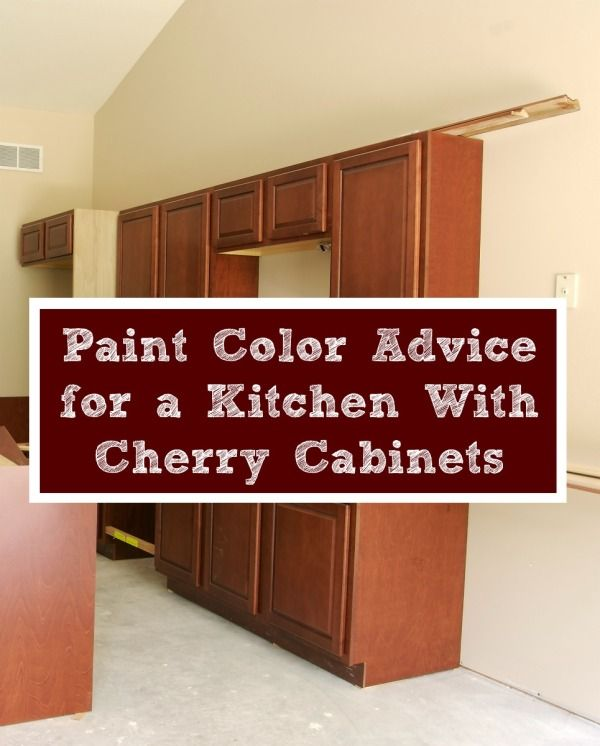 This Is A Guide About Kitchen Paint Advice With Cherry Cabinets Choosing The Right Wall Color Dark Wood Can Make Difference In