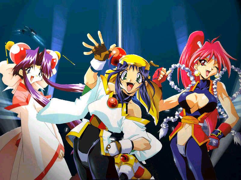 Saber Marionette J Anime Characters : Saber marionette j characters cherry lime and