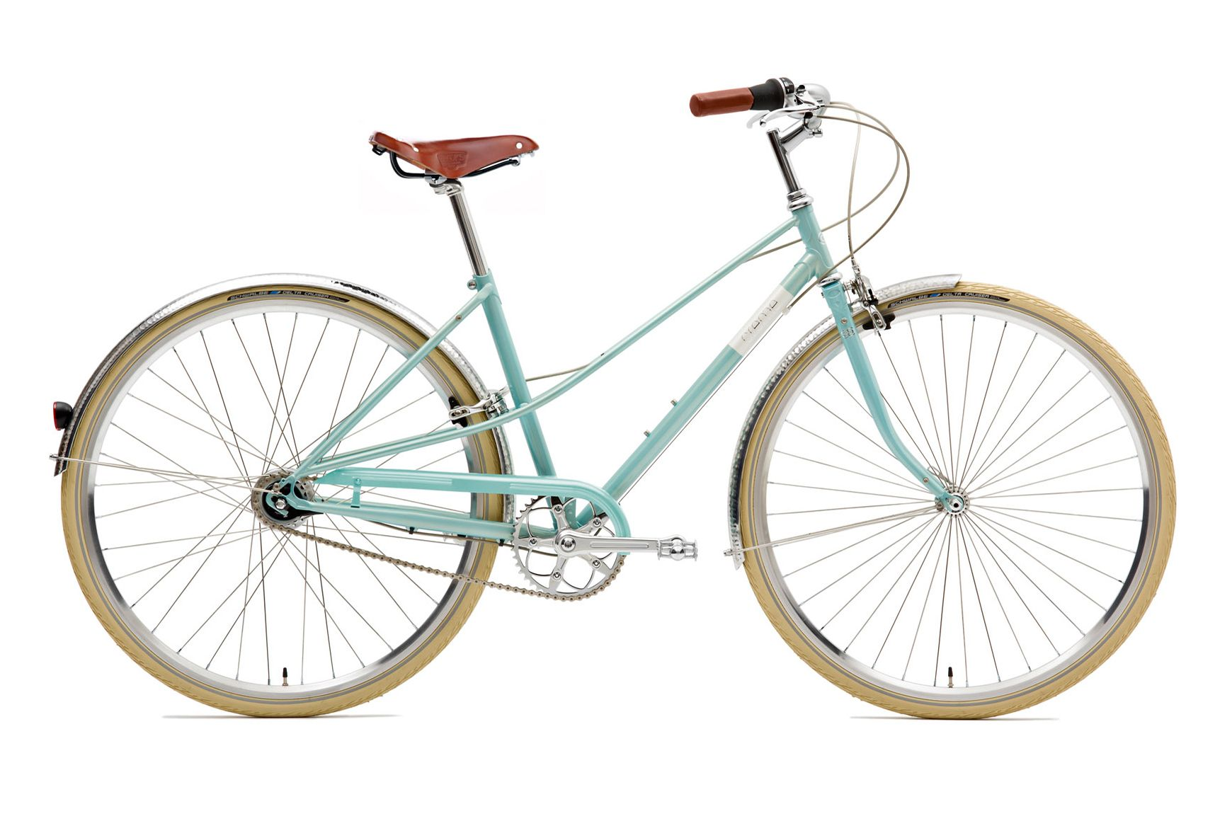 Creme Caferacer Lady Doppio 7-speed turquoise | Bicycling, Turquoise ...