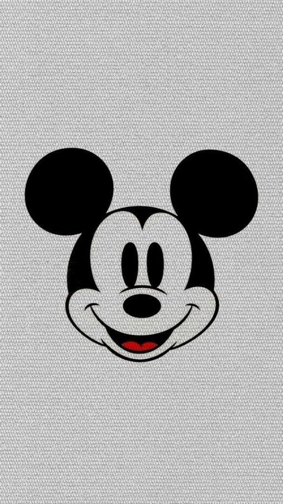 ミッキーマウスクラシック かわいい笑顔iphone壁紙 Iphone 55s 66s
