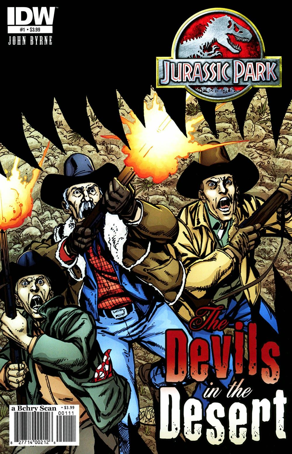 Jurassic Park 006 – The Devils in the Desert 01 | Viewcomic