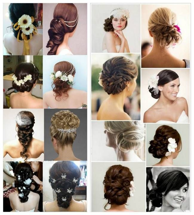 Lovely And Romantic Bridal Hairstyles 14 I Like The Bottom