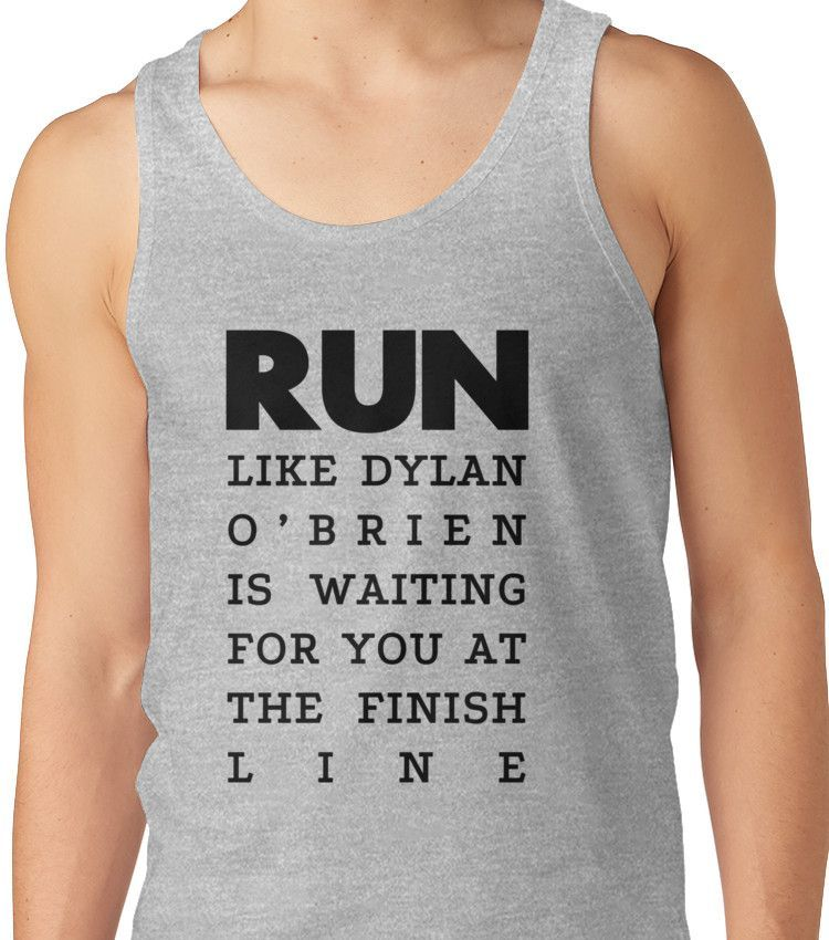RUN - Dylan O'Brien  Unisex Tank Top