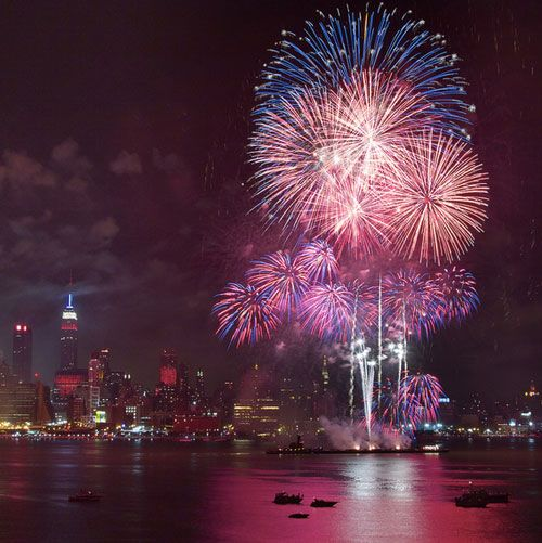 The Best Spots For Watching Fireworks in the Curbed Universe