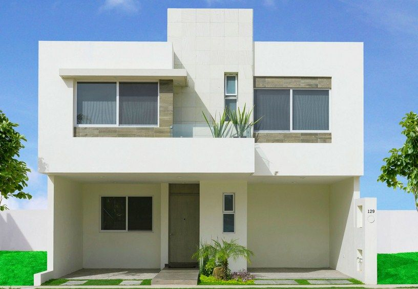 Peque a vivienda estilo tradicional exteriores r sticos e for Fachadas exteriores minimalistas