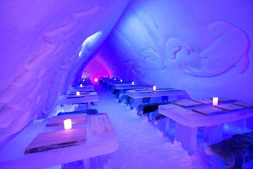 Afbeeldingsresultaat voor ice restaurant lapland