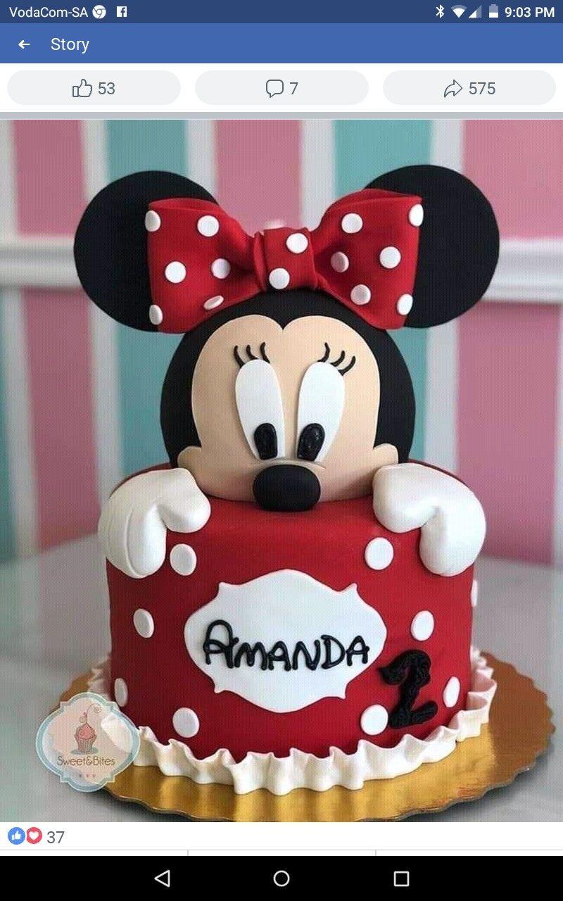 Kinder Geburtstag Torte Bild Von Maryam Adams Auf Mini Mouse Cake