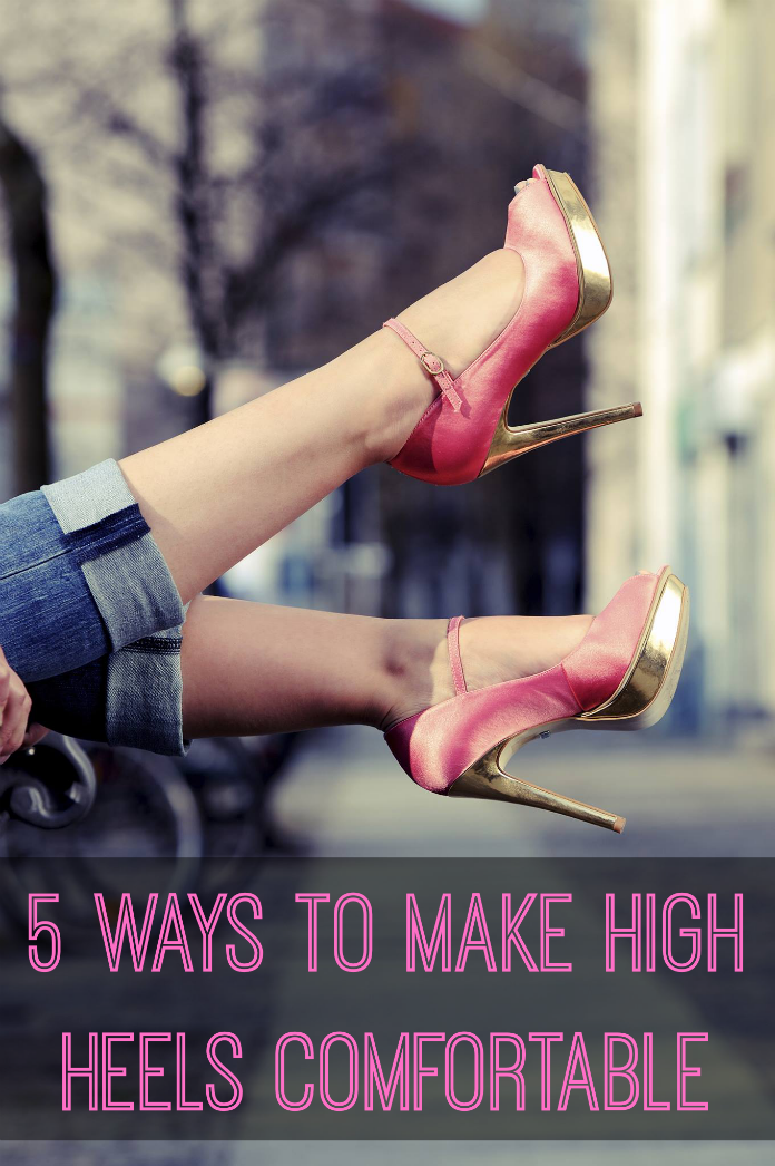 This article is actually about FINDING comfortable heels as opposed to making your current ones more comfortable, but it's helpful nonetheless.