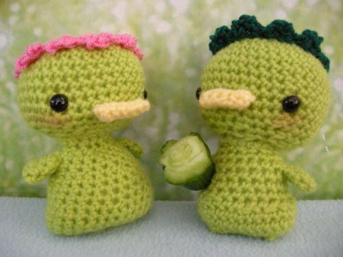 Amigurumi Patterns Free Crochet Pdf : Amigurumi kappa free pattern pdf download click :http: www