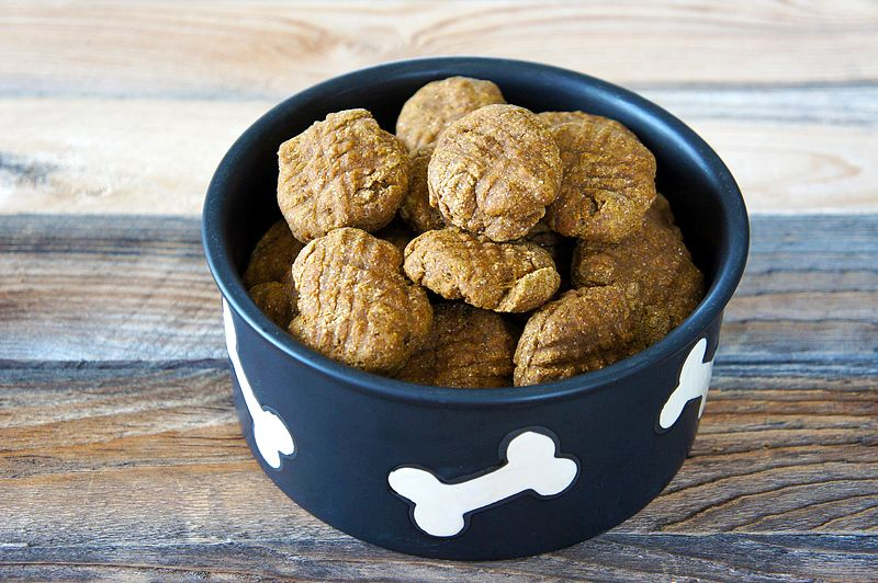 Homemade pumpkin dog treats recipe with images dog